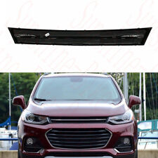 1pcs For Chevrolet Trax 2017-2018 Car ABS Front Bumper Upper Grille Cover Frame