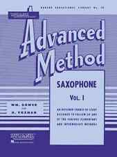 Rubank Advanced Method Volume 1 Saxophone Music Book Band Brand New On Sale!