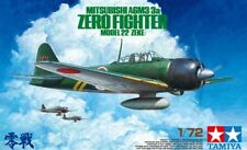 Tamiya 60785 - 1/72 Mitsubishi A6M3/3A Zero Fighter Model 22 (Zeke) - Neu