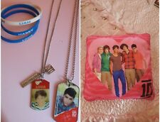 One Direction Jewelry Lot & Pillow