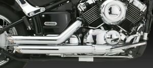 Vance & Hines Short Shots Staggered exhaust V-Star 650 XVS650/A all years V18519