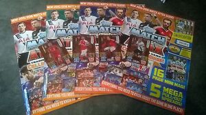 Match Attax 2015/16 Collecters Guide ALL FOUR versions & TWO Limited Editions