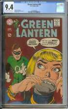 GREEN LANTERN #69 CGC 9.4 OW/WH PAGES