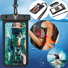 Floating Waterproof Pouch Universal Dry Bag Phone Workout Arm Band Lanyard Case