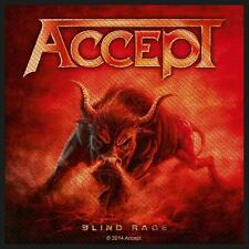 ACCEPT - Patch Aufnäher - Blind rage 10x10cm