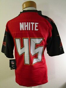 NWT Nike Devin White Tampa Bay Buccaneers #45 Youth Game Jersey M Red MSRP$75