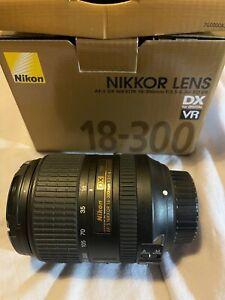 Nikon Nikkor AF-S DX 18-300mm f/3.5-5.6G ED VR Lens - Boxed + Hood and Caps WOW