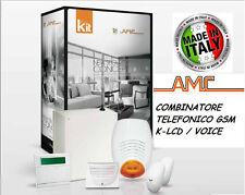KIT COMPLETO ALLARME AMC C24 PLUS ITALIA GSM FILARE SENSORI DOPPIA TECNOLOGIA
