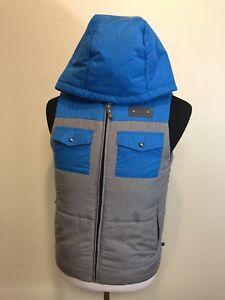 Burton Dryride Women's MB Traverse VEST Jacket W Hood Sz Small