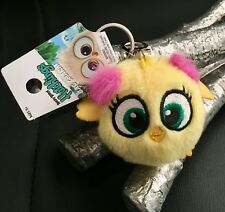 ANGRY BIRDS HATCHLINGS KEYCHAIN - Pink Lime Green Yellow Blue Tan BIRD PLUSH TOY