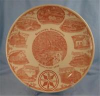 Vintage Boyertown Pa Plate Red & White Pennsylvania Centennial 1966 Collector O)