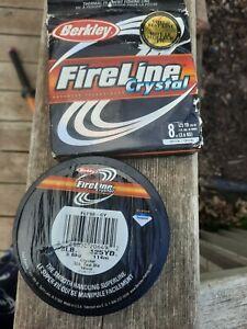 Berkley FireLine Crystal Fishing Line (125 yds) - 8 lb Test.