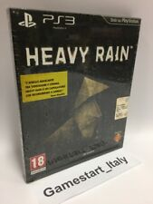 HEAVY RAIN SPECIAL COLLECTOR'S EDITION - SONY PS3 NUOVO SIGILLATO NEW PAL RARE