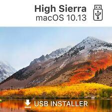 ? macOS 10.13 High Sierra bootfähiger USB Stick Reparatur Update Recovery Hilfe