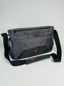 Manfrotto PIXI MESSENGER Camera DSLR Bag - Grey - Good Condition - Authentic