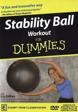 B8 BRAND NEW SEALED Stability Ball For Dummies Yoga (DVD, 2008)
