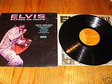 ELVIS PRESLEY Raised On Rock Original Orange Label LP