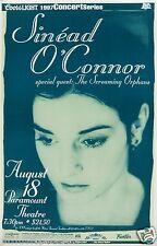 SINEAD O'CONNOR/SCREAMING ORPHANS 1997 DENVER CONCERT TOUR POSTER-Alt Folk Rock