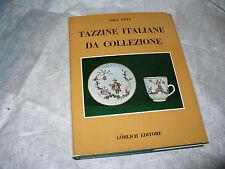 SAUL LEVY TAZZINE ITALIANE DA COLLEZIONE 1968 GORLICH EDIT. PORCELLANE MAIOLICHE