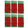 72 Mini Schleifen rot Weihnachten Weihnachtsschleifen Schleife Christbaum 5cm