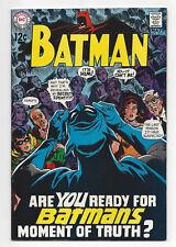 DC Batman #211 1969 Comic Book NM Unread Unrestored High Grade Silver Age Key