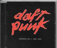 CD COMPIL 15 TITRES--DAFT PUNK--MUSIQUE VOL.1 1993-2005