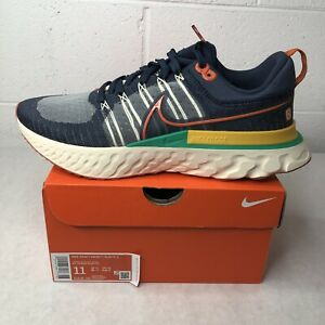 NEW Nike React Infinity Run Flyknit 2 Thunder Blue Ribbon Sports 72 DJ5181-400