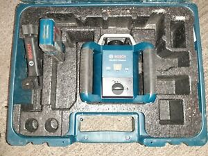 Bosch Professional GRL400H Series Horizontal Self-Leveling Rotary Laser w/Case