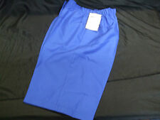Domino Ladies Lawn Bowls Shorts. Light Royal Size20