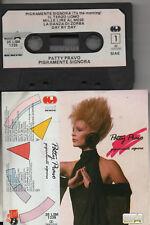 PATTY PRAVO musicassetta MC K7 originale PIGRAMENTE SIGNORA made in ITALY 1987