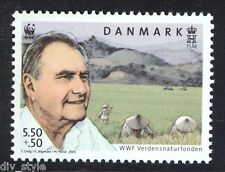 WWF Farm fields mnh stamp 2011 Denmark #B94