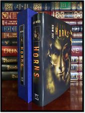 Horns ✍SIGNED✍ by JOE HILL Mint PS Publishing Limited Traycased Hardback 1/200
