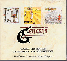 COFFRET 3 CD GENESIS TRESPASS - NURSERY CRYME - FOXTROT COLLECTOR'S EDITION 1990