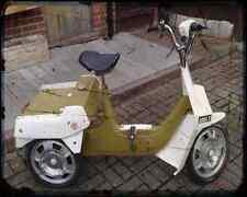 Bsa Ariel 03 A4 Metal Sign Motorbike Vintage Aged