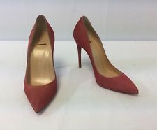 New Christian Louboutin Pigalle Follies Suede Point-Toe Pumps Size 36/6 $675.00
