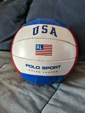 New listing VTG Polo Sport Ralph Lauren RL USA Volleyball Red White Blue Olympic Games 1996