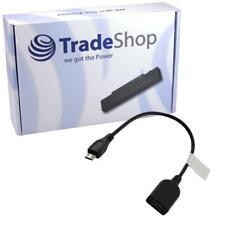 USB micro B Port Stecker auf USB A Buchse OTG Kabel Mini Adapter
