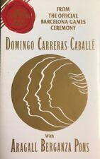 Domingo, Carreras, Caballe -  Barcelona Games - Cassette Tape Album (C202)