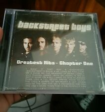 Backstreet Boys - Greatest Hits Chapter One MUSIC CD - FREE POST