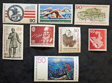 Sello BERLIN Stamp (ALEMANIA) - 8 sellos de 1978 n (Cyn27)
