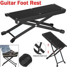 More details for adjustable guitar foot rest music classical footrest acoustic footstool stand uk