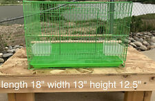 Green Bird Cage For Parakeet Finches Small To Medium Sized Birds