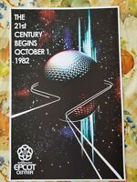 EPCOT Center Opening Day Teaser Attraction Poster Print 11x17