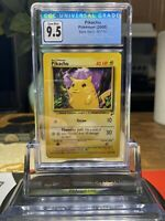 ⚡️Base Set 2⚡️2000 Pokemon Game Pikachu 87/130 CGC 9.5 GEM MINT PSA BGS