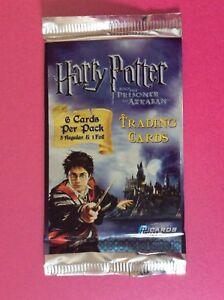 Harry Potter and the Prisoner of Azkaban Trading Cards - MULTIPLE SEALED PACKS
