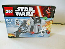 Lego Star Wars Set  75132 First Order Battle Pack Brand New Sealed Box