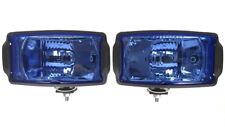 2x Fernscheinwerfer H3 Blue Zusatz Fernscheinwerfer 12V/24V Halogenscheinwerfer