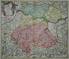 Archiducatus Austriae - Oberösterreich - J. B. Homann - 1720 - Altkoloriert