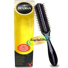 Denman D33 Extra Soft Pins Small Handbag Travel Styling Hair Brush