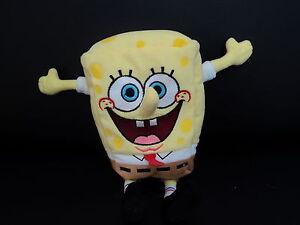 Plush Corda Doudou Lacing Toy Sponge Bob Squarepants 20 CM Good Condition